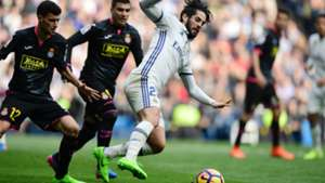 Isco Alarcon Real Madrid Espanyol LaLiga