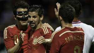 NOLITO CESC FABREGAS PACO ALCACER SPAIN COSTA RICA FRIENDLY 06112015