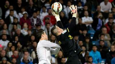 Cristiano Ronaldo Sergio Asenjo Real Madrid Villarreal Liga BBVA 01032015