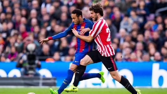 Neymar Yeray Alvarez Barcelona Athletic Bilbao