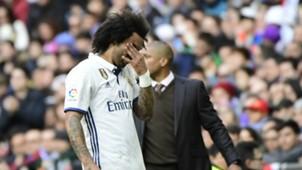 Marcelo Real Madrid Malaga LaLiga 21012017