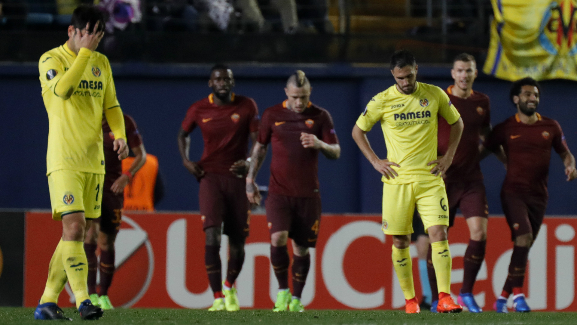 Villarreal Roma Europa League 16022017