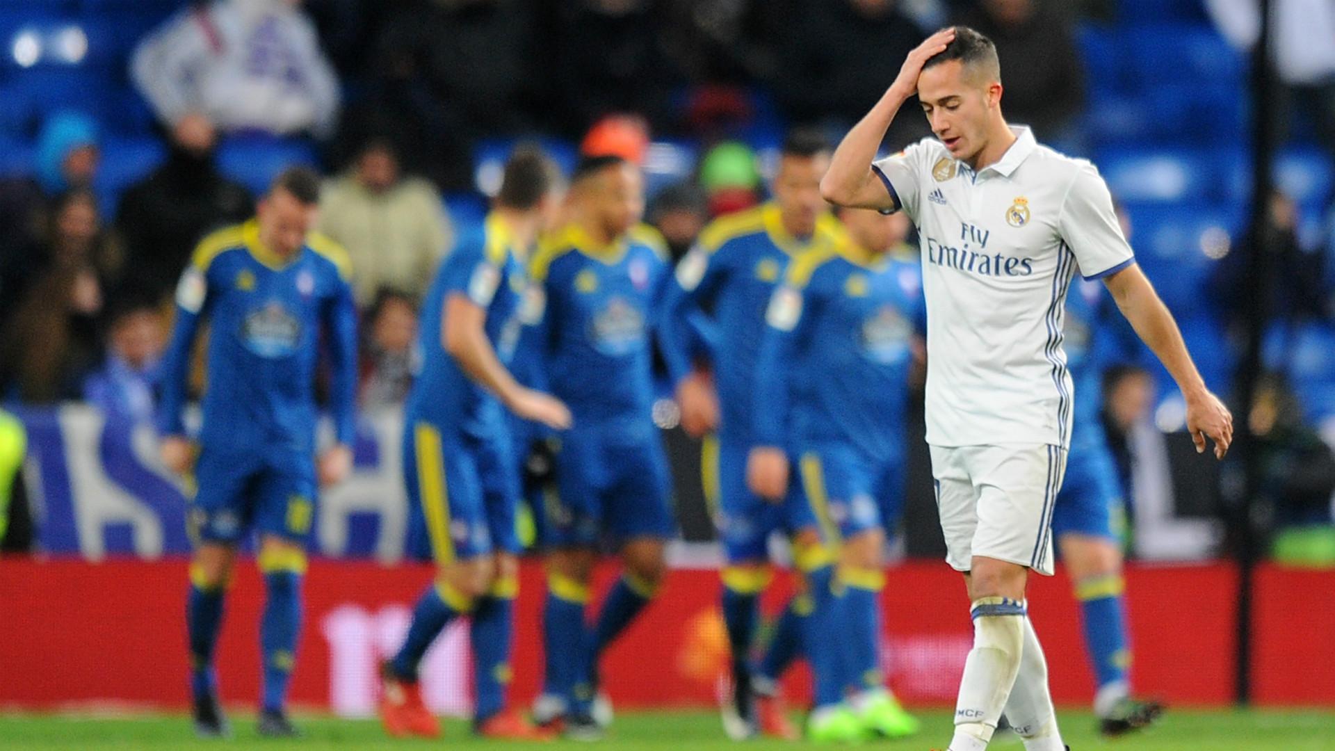 Lucas Vazquez Real Madrid Celta Copa del Rey