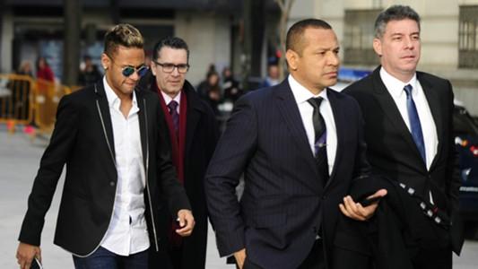 Neymar & father court