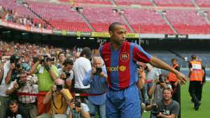 Thierry Henry Barcelona