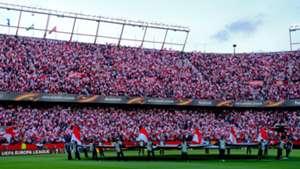 Sevilla fans UEFA Europa League