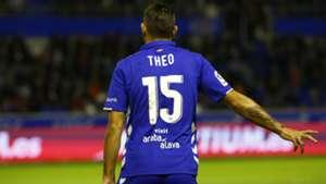 Theo Hernandez Alaves Deportivo Coruna La Liga