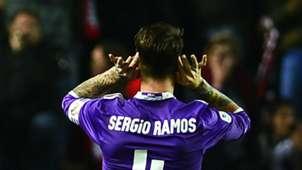 Sergio Ramos Sevilla Real Madrid Copa del Rey