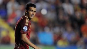 Pedro Rodríguez Spain Euro 2016 Qualifiers 080914