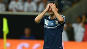 Lionel Messi Germany Argentina 150814