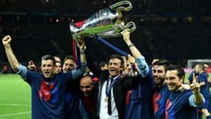 Luis Enrique Champions Barcelona
