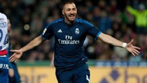 Karim Benzema Granada Real Madrid 07022016