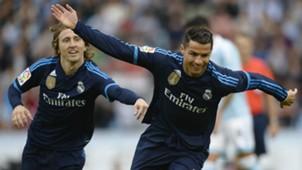 Cristiano Ronaldo Luka Modric Celta Vigo Real Madrid La Liga 24102015