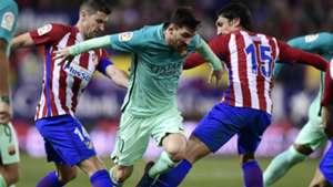 Messi Gabi Savic Atletico Madrid Barcelona Copa del Rey