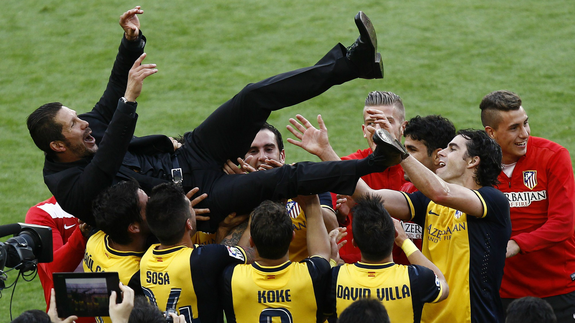 Atletico Camp Nou Barcelona 2014
