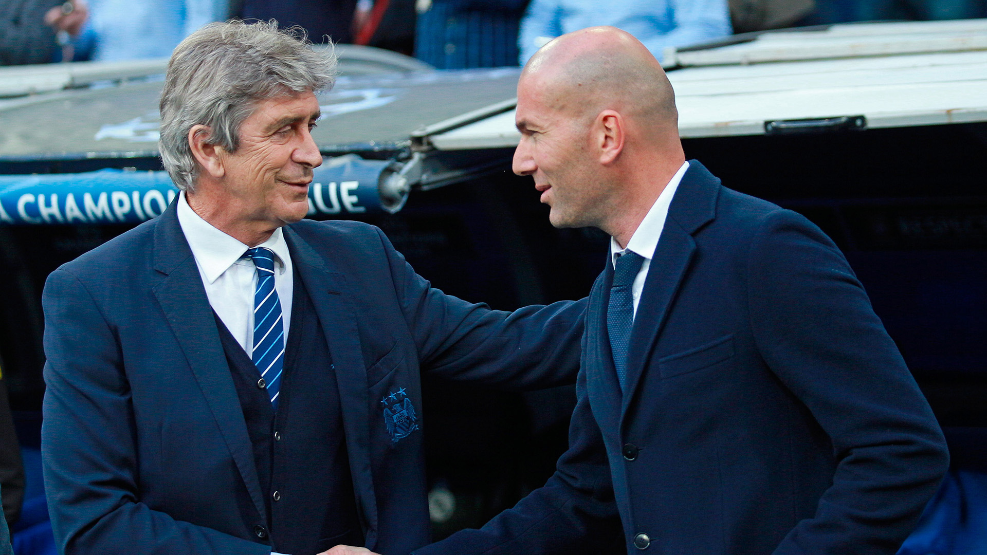 Manuel Pellegrini Real Madrid Manchester City 04052016