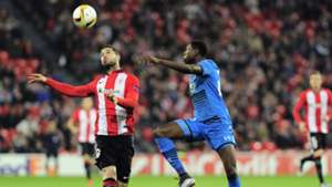 Kike Sola Derrick Luckassen Athletic Club AZ Alkmaar Europa League