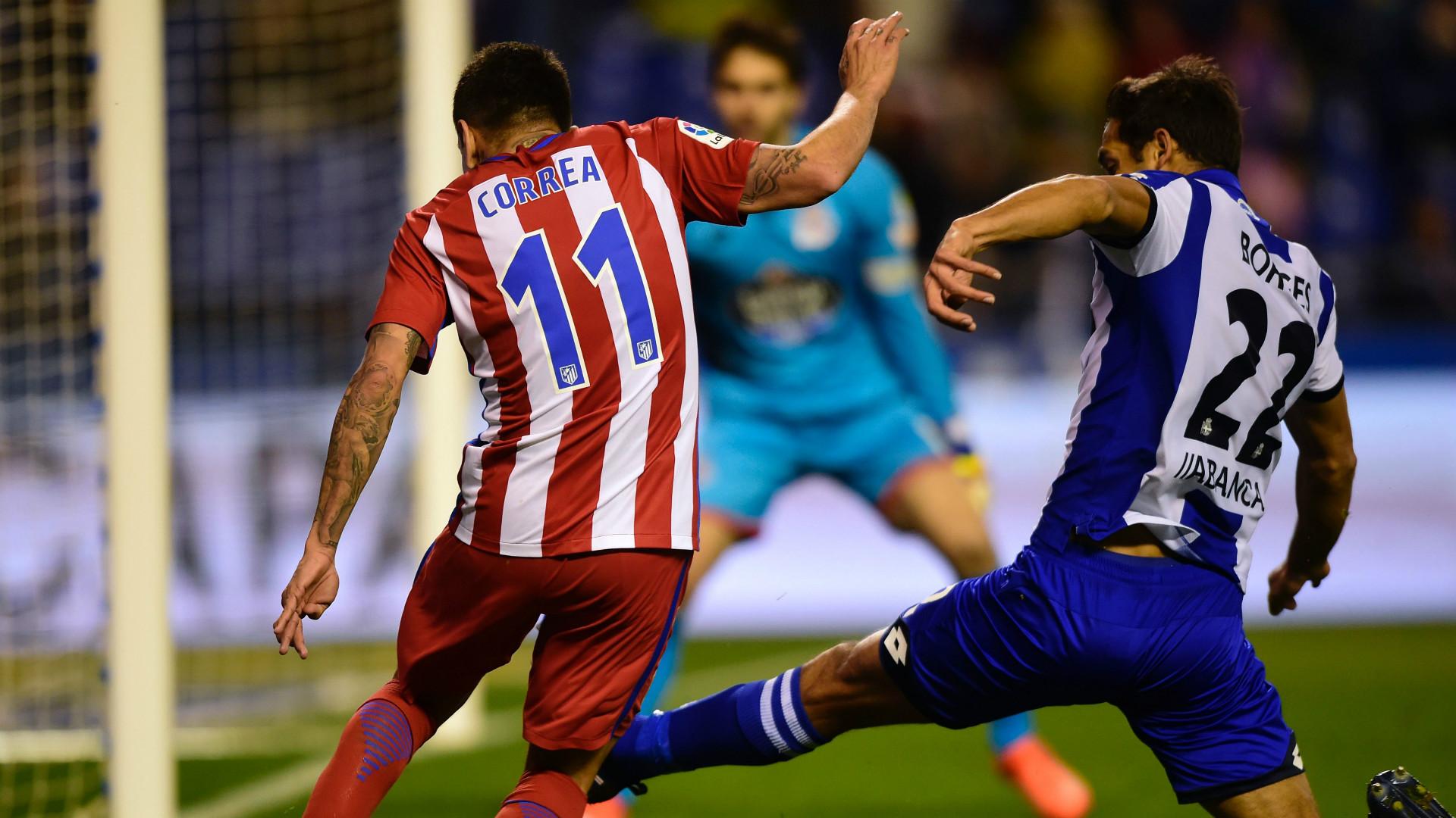 Angel Correa Celso Borges Deportivo Coruna Atletico Madrid LaLiga 02032017