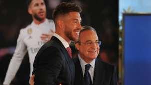Florentino Perez Sergio Ramos Real Madrid
