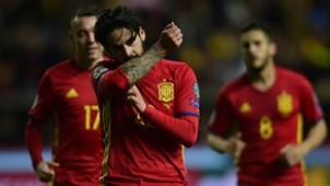 Isco Spain Israel WC Qualifier