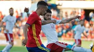 Lucas Vazquez Spain Georgia Friendly 07062016