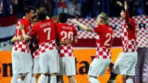 Luka Modric Croatia Azerbaijan Euro 2016 Qualifier