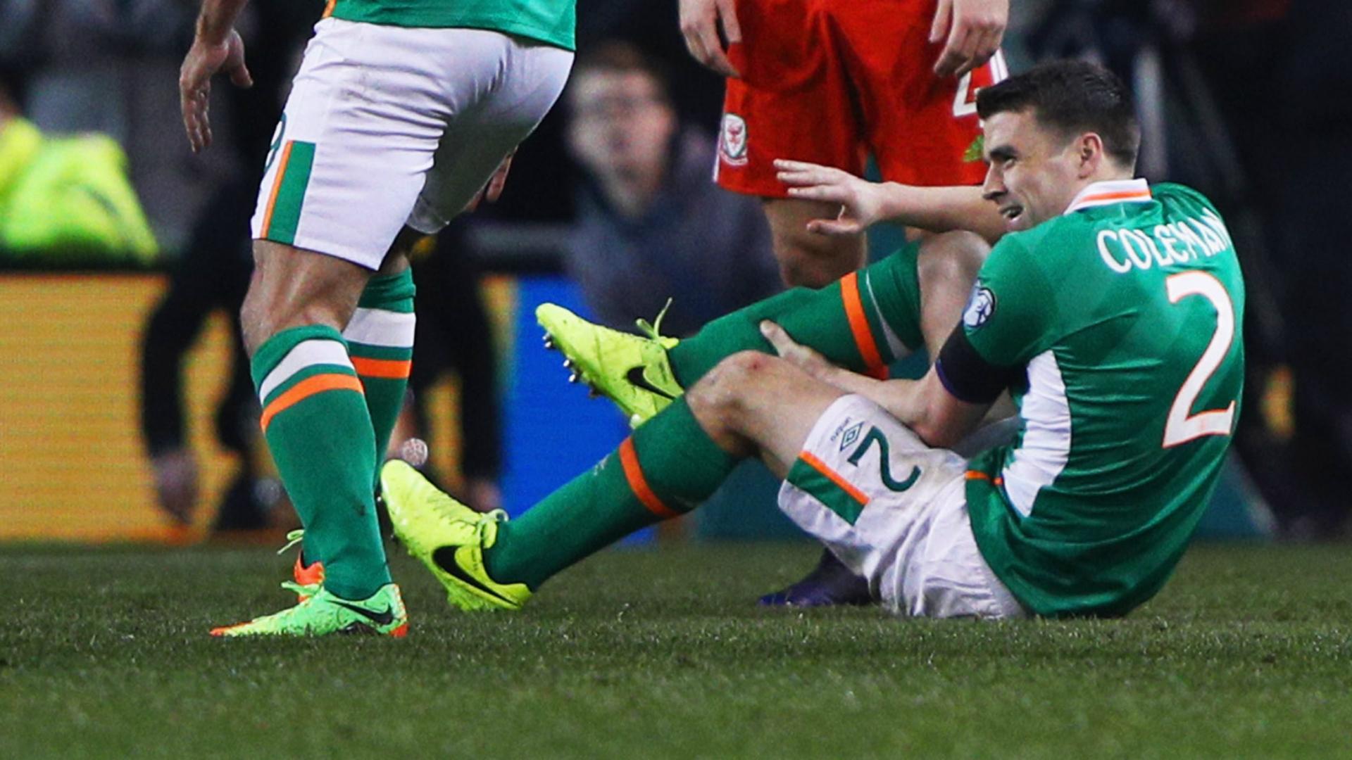 Seamus Coleman Ireland Wales WC Qualifier