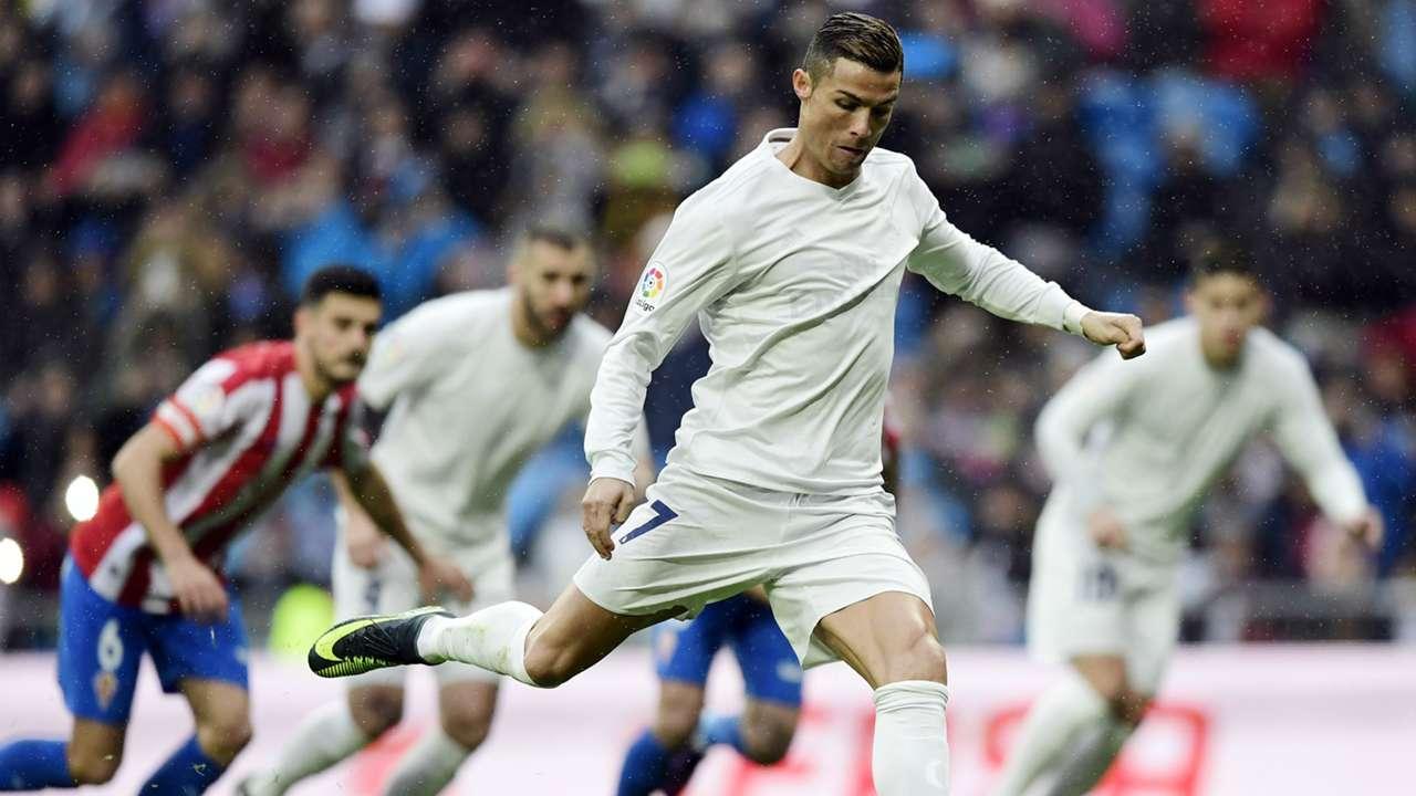 Cristiano Ronaldo Real Madrid Sporting Gijon La Liga 26112016