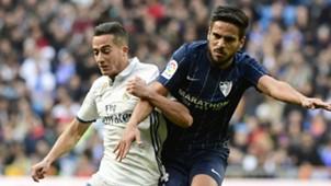 Lucas Vazquez Recio Real Madrid Malaga LaLiga 21012017