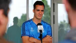 Lucas Vazquez Real Madrid Open Media Day