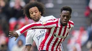 Inaki Williams Marcelo Athletic Bilbao Real Madrid La Liga