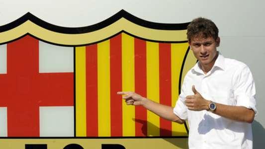 Keirrison ex Barcelona player