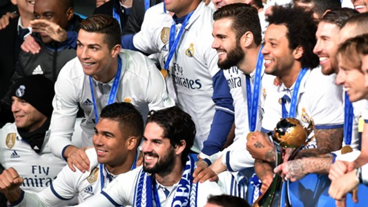 Cristiano Ronaldo Nacho Real Madrid Kashima FIFA Club World Cup final 18122016