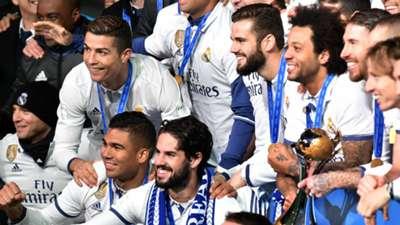 Cristiano Ronaldo Nacho Real Madrid Kashima FIFA Club World Cup final 18122016