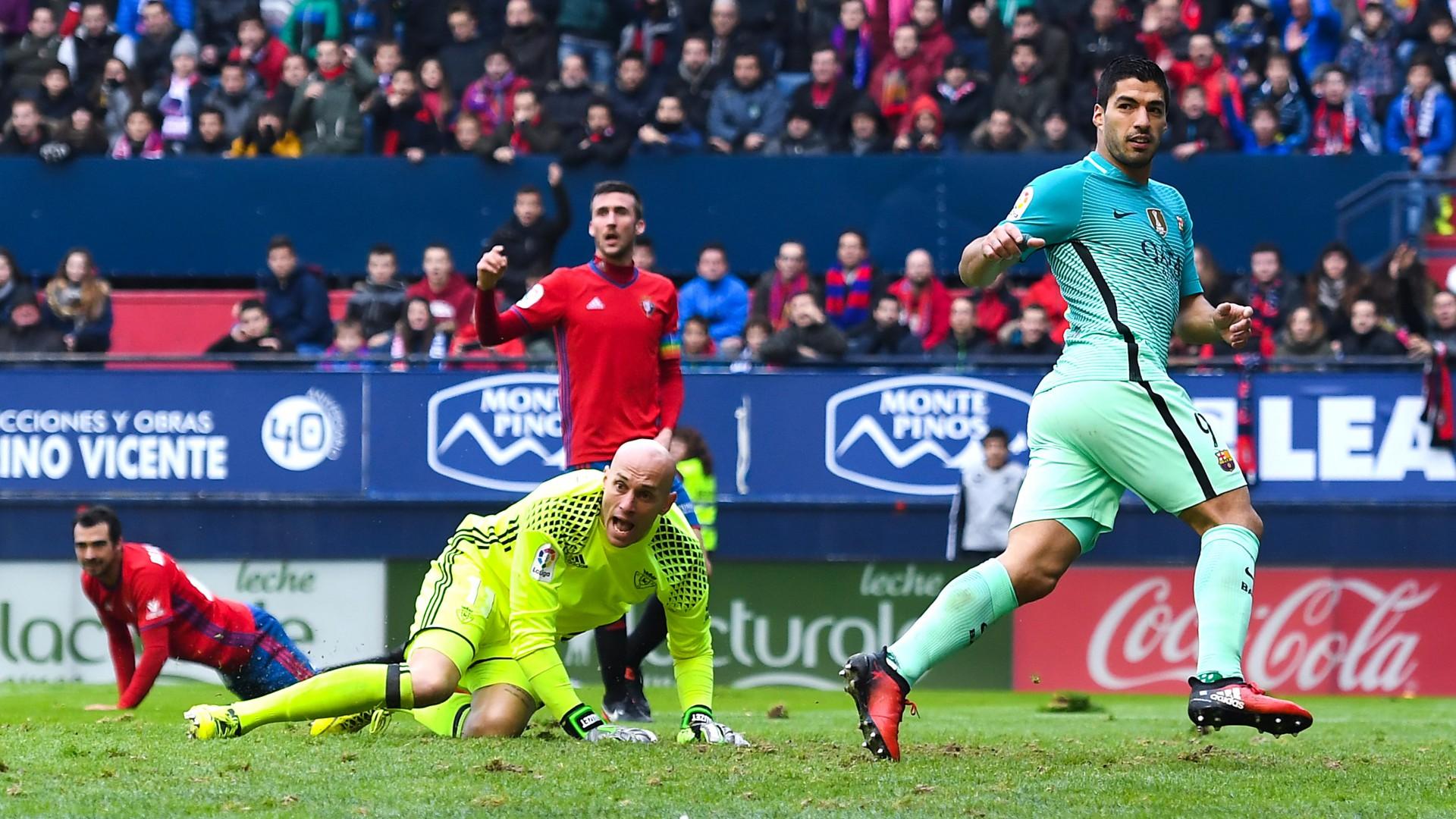 Luis Suarez Nauzet Osasuna FC Barcelona LaLiga