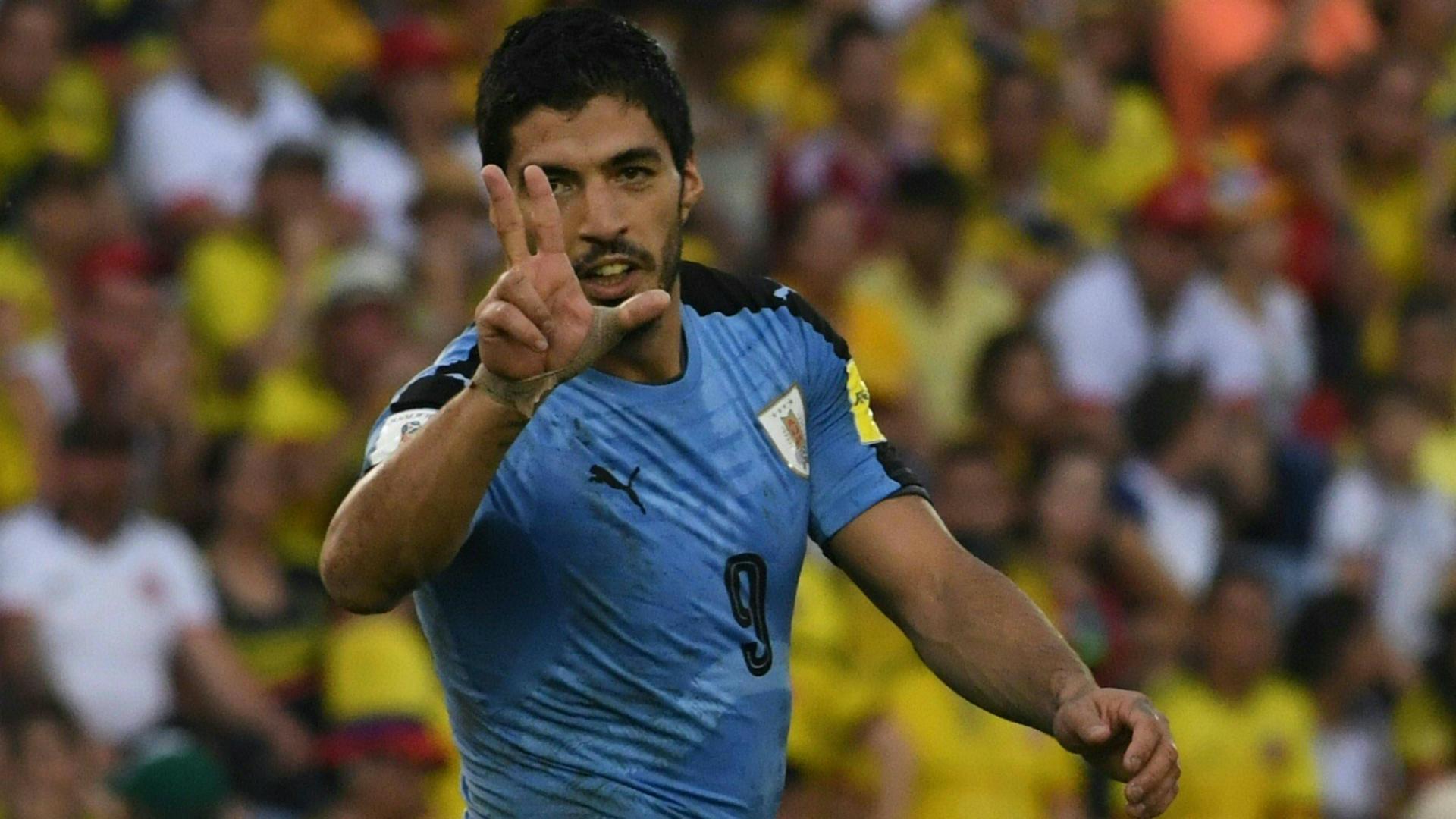 Uruguay liberó a Luis Suárez de los amistosos