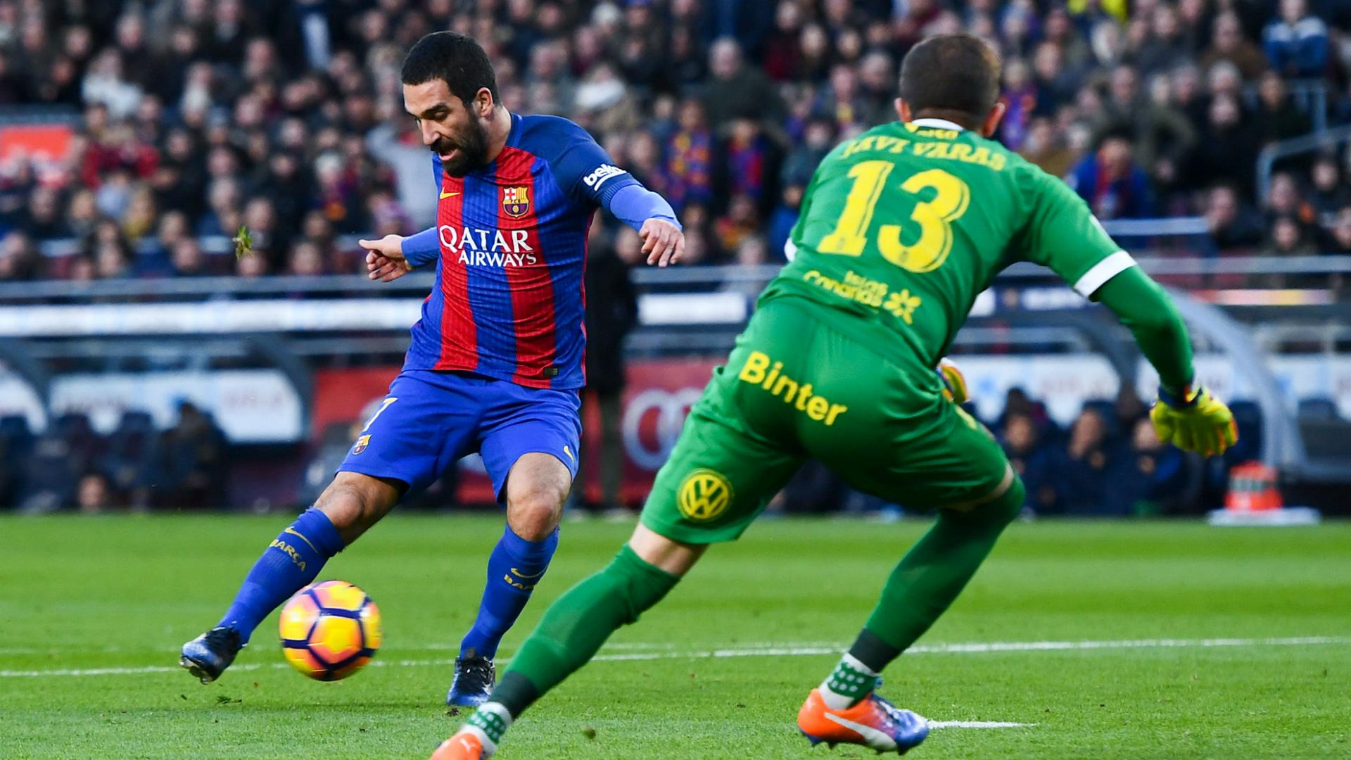 Arda Turan goal Barcelona Las Palmas La Liga