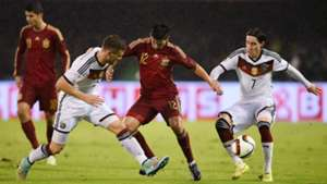 Shkodran Mustafi Nolito Sebastian Rudy Spain Germany International Friendly 11182014