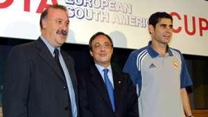 Florentino Pérez Vicente del Bosque Real Madrid