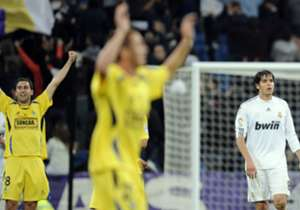 Alcorcon-Real Madrid 4-0 - Avec des joueurs comme Kaka et Raul sur la pelouse, le Real s'incline 4-0 en Coupe face à une équipe de 3e division espagnole en 2009.