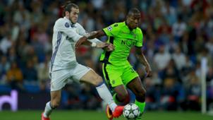 Gareth Bale Marvin Zeegelaar Real Madrid Sporting CP 14092016