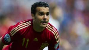 Pedro Spain Slovakia Euro Qualifier