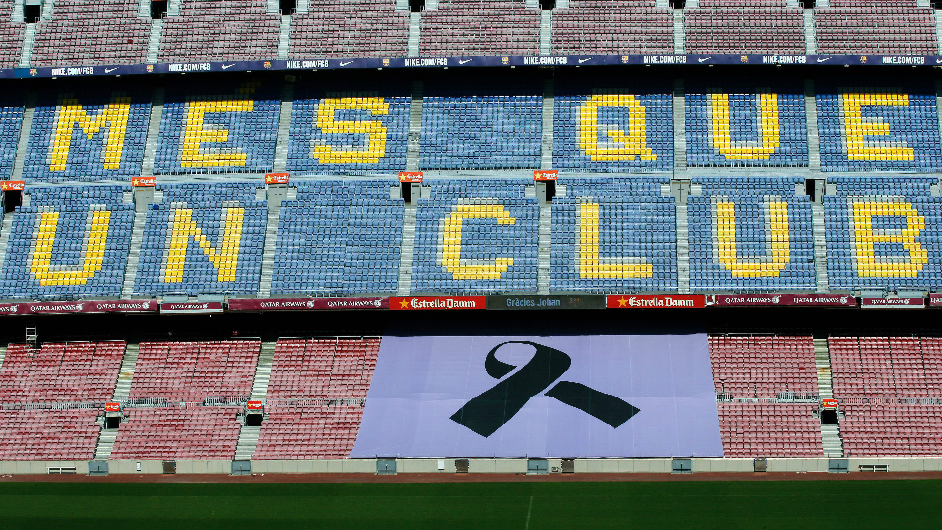 Goodbye to Cruyff at Camp Nou