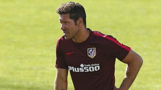 Diego Simeone Atletico Madrid training