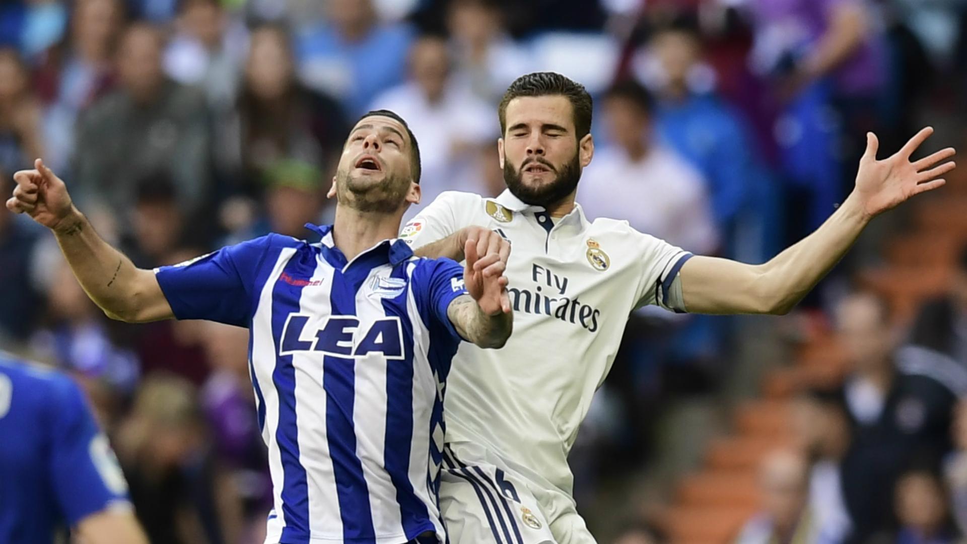 Nacho Edgar Mendez Real Madrid Alaves La Liga