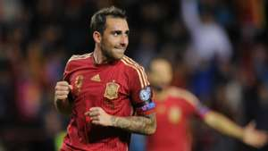 Paco Alcacer Spain Luxembourg Euro Qualifier
