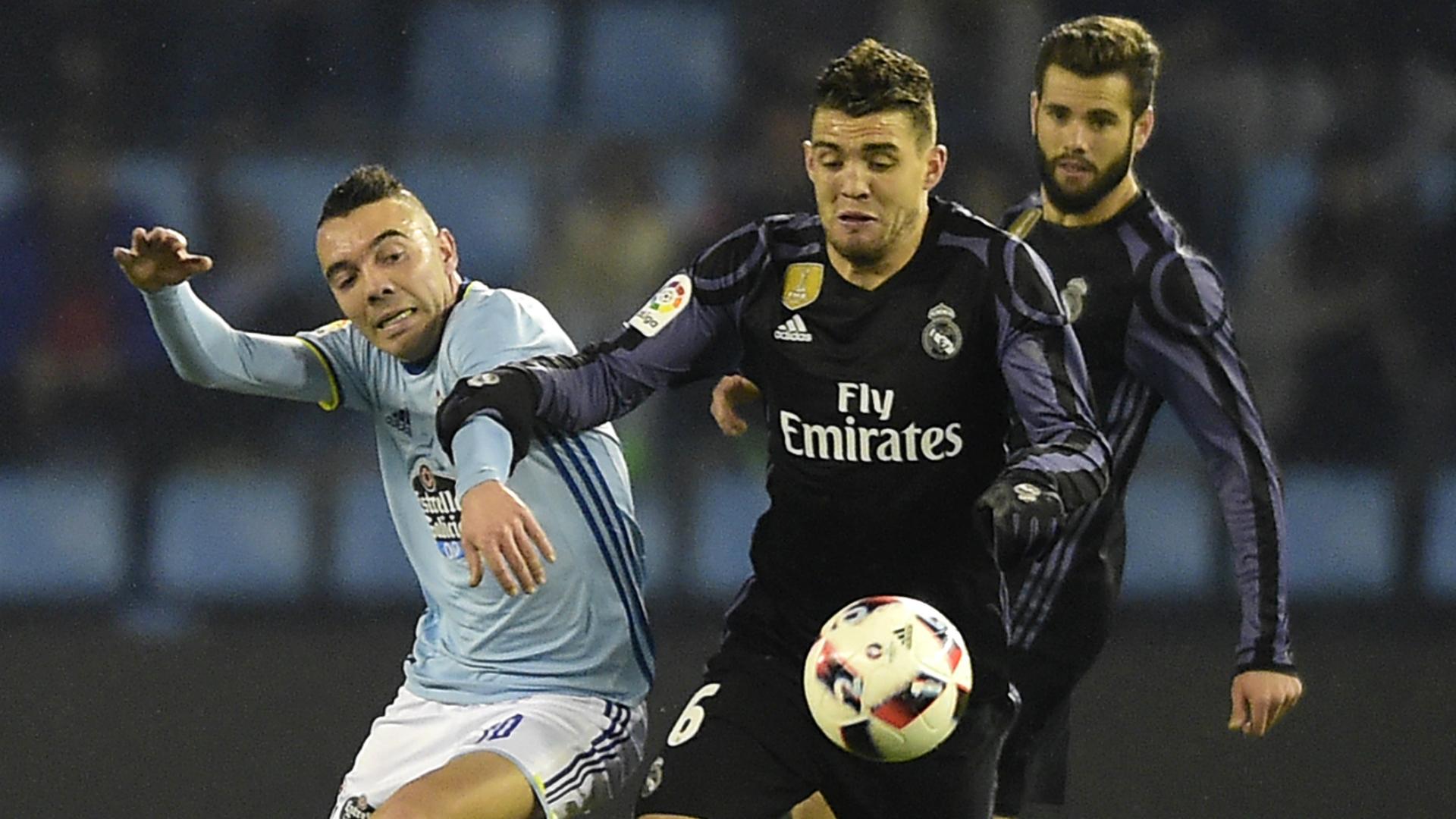 Iago Aspas Mateo Kovacic Celta Real Madrid Copa del Rey