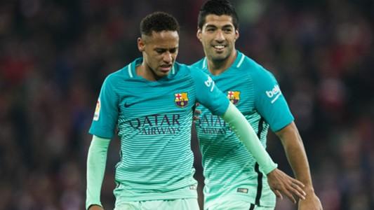 Neymar Luis Suarez Athletic Club Barcelona Copa del Rey