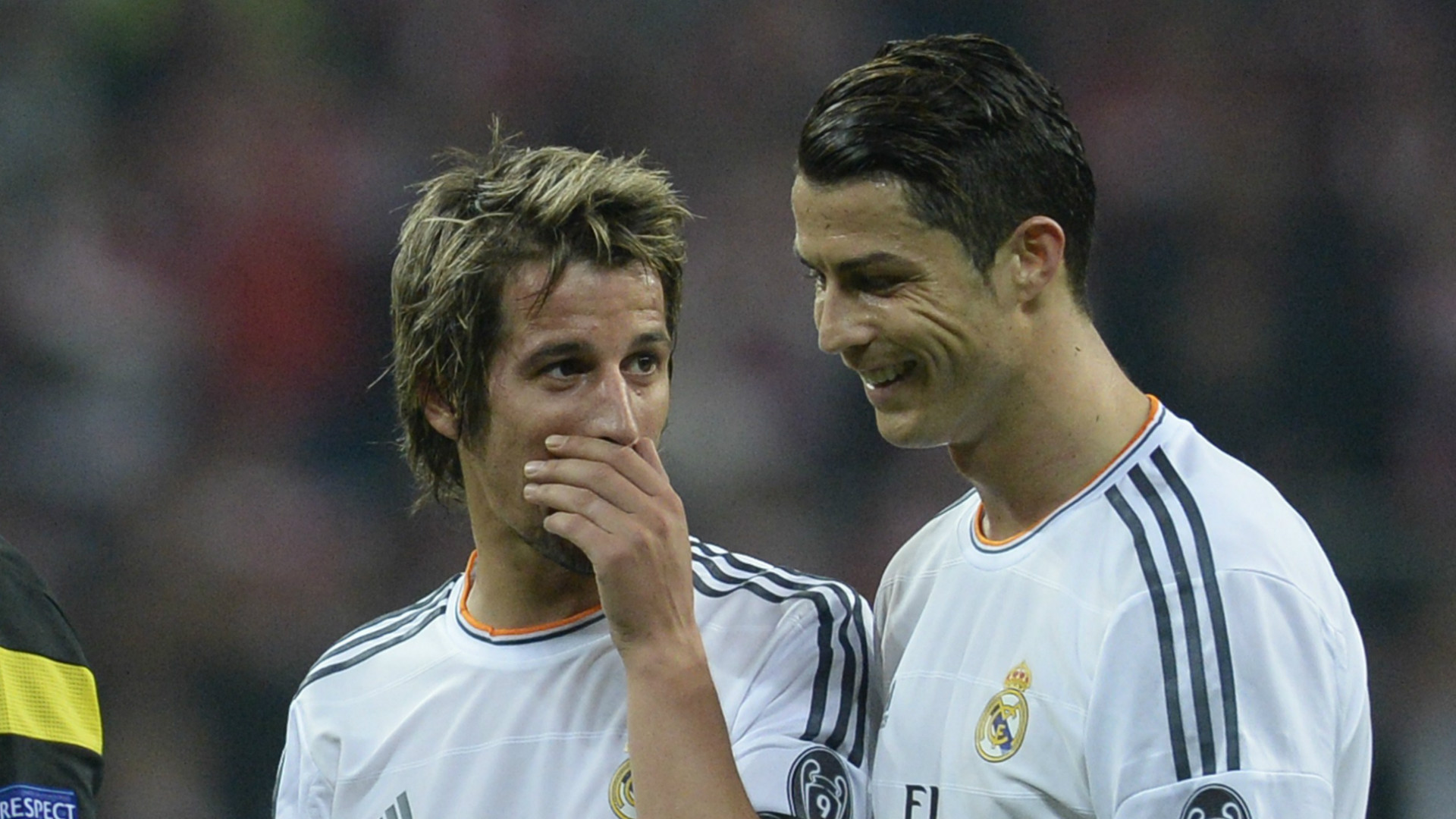 Fabio Coentrao Cristiano Ronaldo Real Madrid