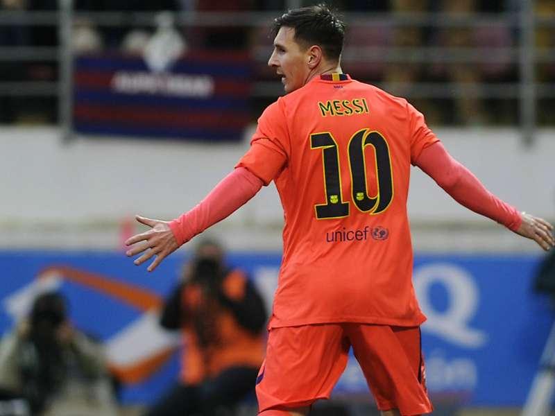 Messi suma más goles que 14 equipos de la Liga